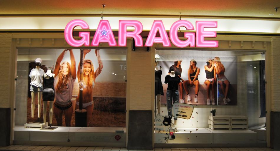 Garage Clothing Store Online Shopping