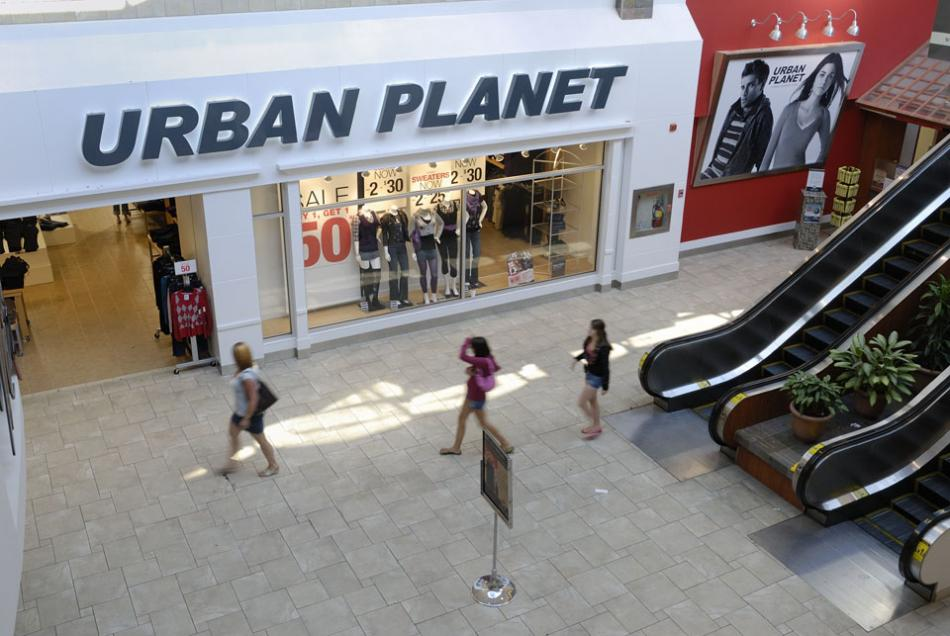 Urban planet clothing store